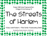 Read 180 Next Generation Stage B Workshop 9 The Streets of Harlem Focus Wall