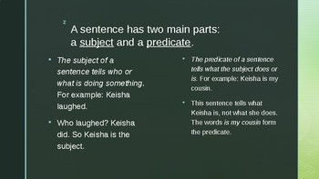 Read 180© Sentences and Fragments Power Point
