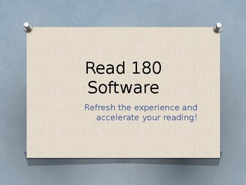 Read 180 Software Tips
