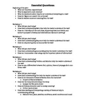 Read 180 Stage B -- Essential Questions