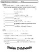 Read 180 Stage B Target Word Quizzes