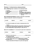 Read 180 Stage B Workshop 1 Vocabulary Review worksheet