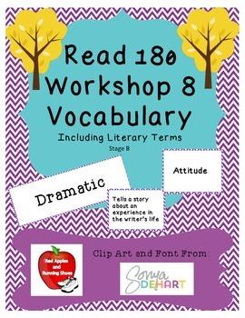 Read 180 Stage B Workshop 8 Vocabulary - NEXT GENERATION