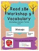 Read 180 Stage B Workshop 9 Vocabulary - NEXT GENERATION
