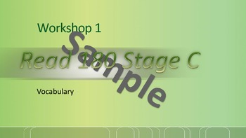 Read 180 Stage C Workshop 1 complete set