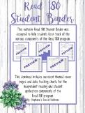 Read 180 Student Binder- Succulents