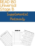 Read 180 Supplemental Materials