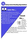 Read 180 Universal Independent Reading Expectations Poster