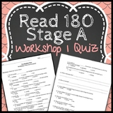 Read 180 Workshop 1 Stage A: Fires Out of Control-Vocabulary Test