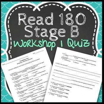 Read 180 Workshop 1 Stage B: The New Americans-Vocabulary Test