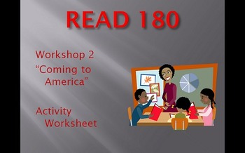 Read 180 Workshop 2 - Activity Sheet