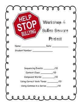 Read 180: Workshop 4 Bullies Beware Pretest