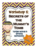 Read 180: Workshop 5 (Secrets of the Mummy's Tomb) Writing Pack