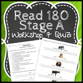 Read 180 Workshop 7 Stage A: Taming Wild Beasts-Vocabulary Test