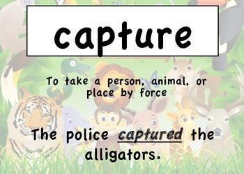 Read 180 Workshop 7-Taming Wild Animals Target Words