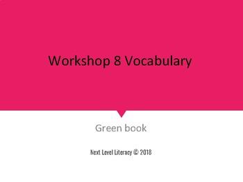 Read 180 Workshop 8- Crime, Punishment...and Teens Vocabulary Slides