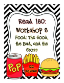 Read 180: Workshop 8 (Food) Mega Pack