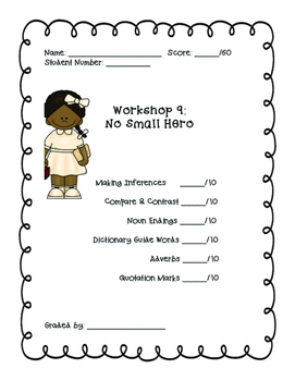 Read 180: Workshop 9 (No Small Hero) Mega Pack