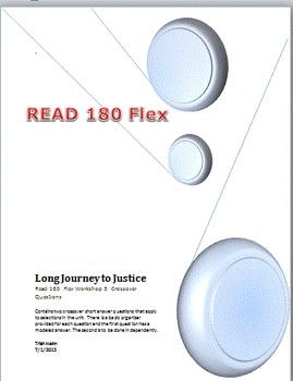 Read 180  rBook flex Workshop 3  Long Journey to Justice C