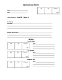 Read 180/System 44 Conference Form