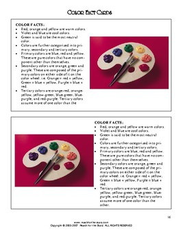 Read-2-Learn - Mouse Paint Thematic Unit