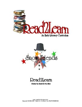 Read-2-Learn - Snow Friends Thematic Unit