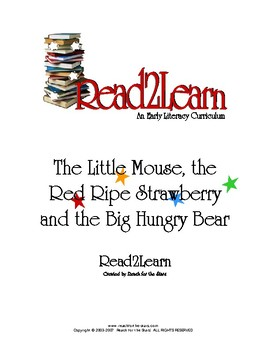 Read-2-Learn - The Big Hungry Bear Thematic Unit