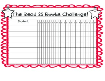 Read 25 Books Challenge