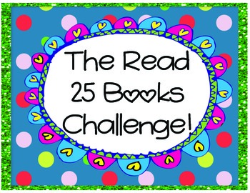 Read 25 Books Challenge