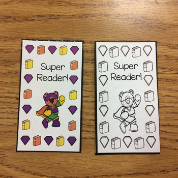 Read-A-Book Punch Cards