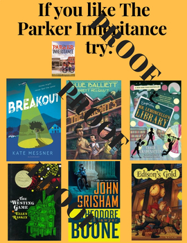 Read A Like Posters for Grades 3-8 - Book Recommendation Posters