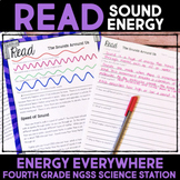 Read About Sound Energy - Energy Transfer & Forces