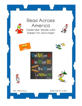 Seusserifical Read Across America Activities