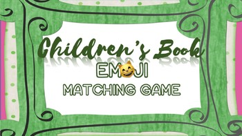 Read Across America Activity Children S Book Emoji Game