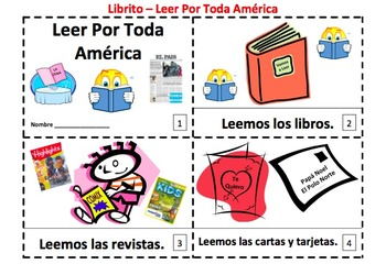 Read Across America Booklets - SPANISH - Things That We Read