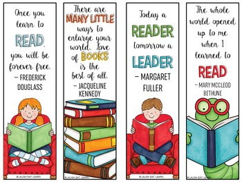 Read Across America Bookmarks