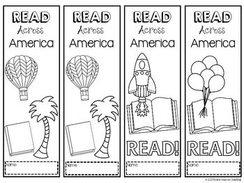 Read Across America Bookmarks