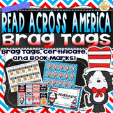 Read Across America ~ Brag Tags Certificate Bookmarks~