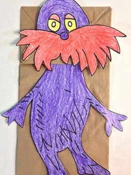 Read Across America Character Puppet 1