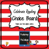 Celebrate Reading Choice Board| Read Across America
