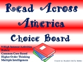 Read Across America Choice Board Activities Menu Project R