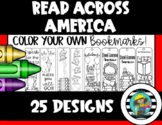 Read Across America Coloring Bookmarks
