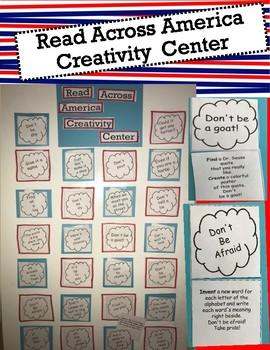 Read Across America Creativity Center
