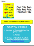 Read Across America Day Fractions Activity