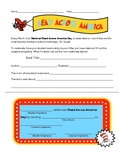 Read Across America Day Homework