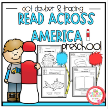 photo relating to Read Across America Printable named Read through Throughout The united states Dot Dauber Tracing Visuals