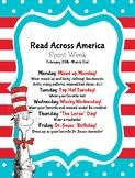 Read Across America/Dr. Seuss Day 2018