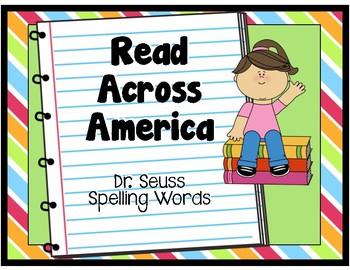 Read Across America Dr. Seuss Spelling Worksheets for Lowe
