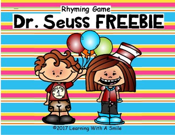 Read Across America FREE Rhyming Game DR. SEUSS