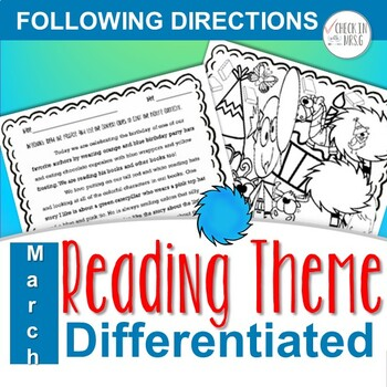 Read Across America Following Directions